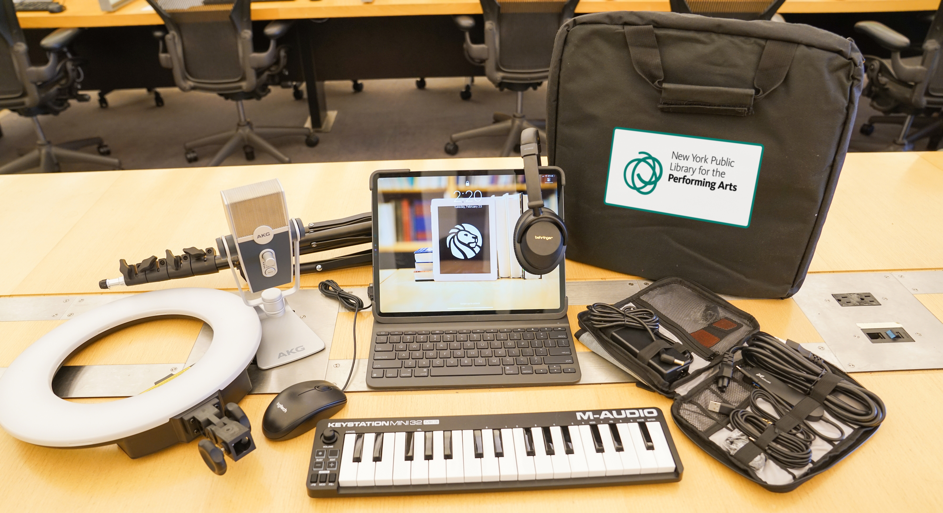 Tech Kits for Performing Artists
