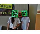 Minecraft a Móricz Zsigmond Könyvtárban (fotó: Gamers for Gamers)