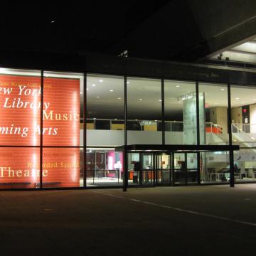 A New York-i Előadóművészeti Nyilvános Könyvtár